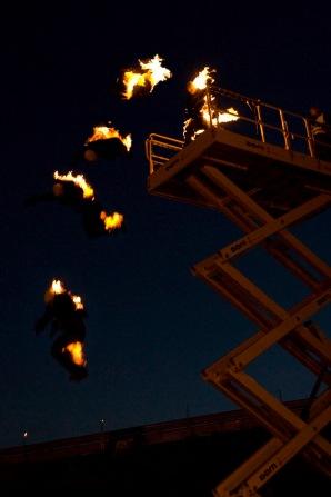 Stuntvogel, Stuntman Thomas Vogel