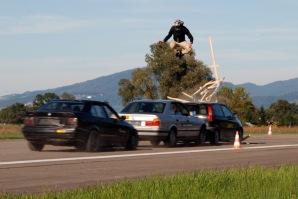 Stuntvogel, Stuntman Peter Salzmann